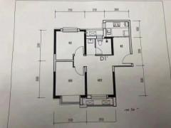 (菏泽)绿地新都汇2室2厅1卫66m²毛坯房