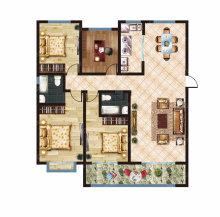 (菏泽)菏泽佳和广场3室2厅2卫136万135m²出售