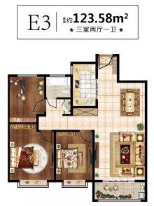 潤澤·中心之城戶型圖